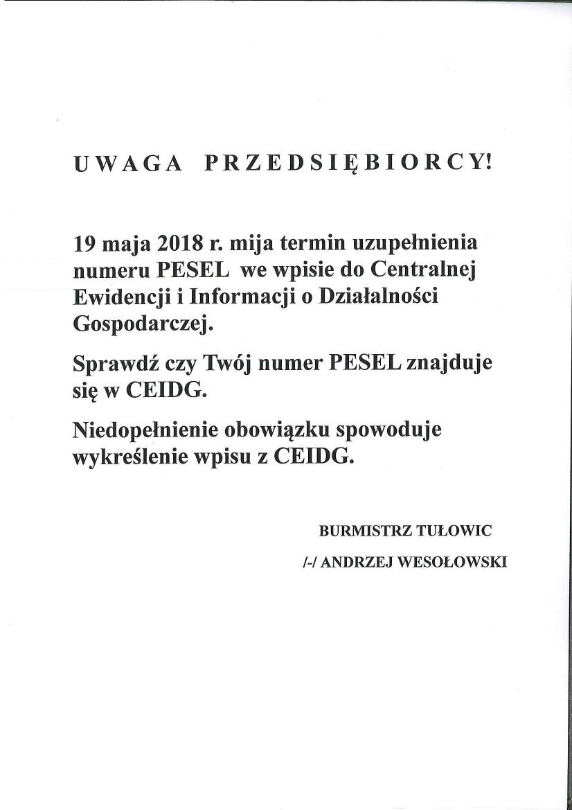 Komunikat Burmistrza Tułowic z dnia 17.05.2018 r.jpeg
