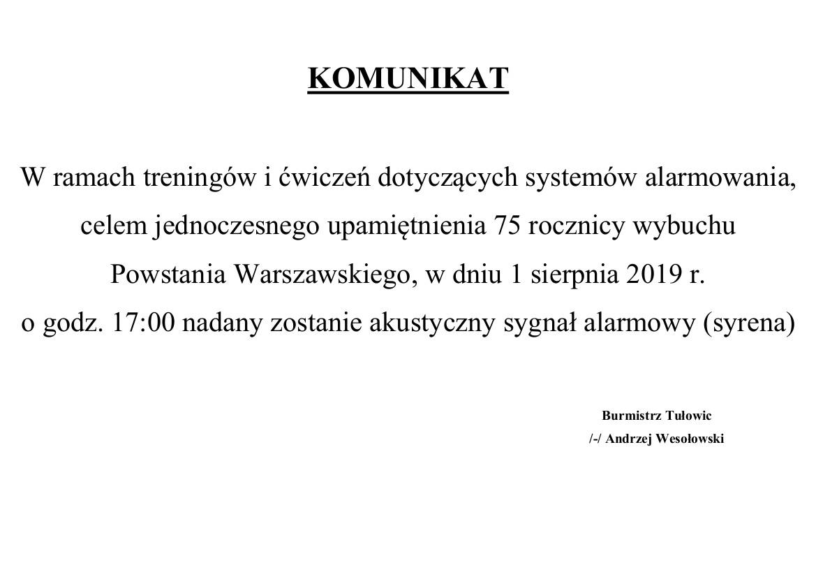 Komunikat Burmistrza z dnia 30.07.2019 r.jpeg