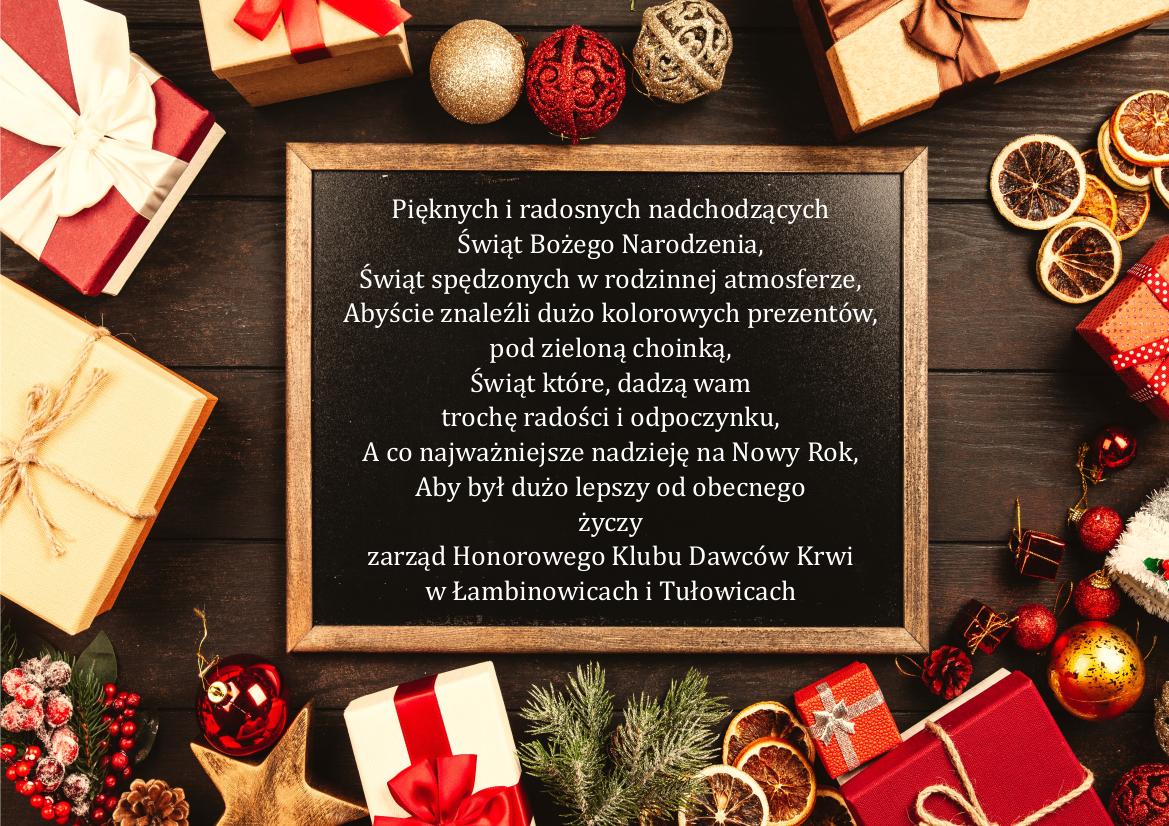 Życzenia świąteczne Honorowych Dawców Krwi w Łmbinowicach i Tułowicach.png