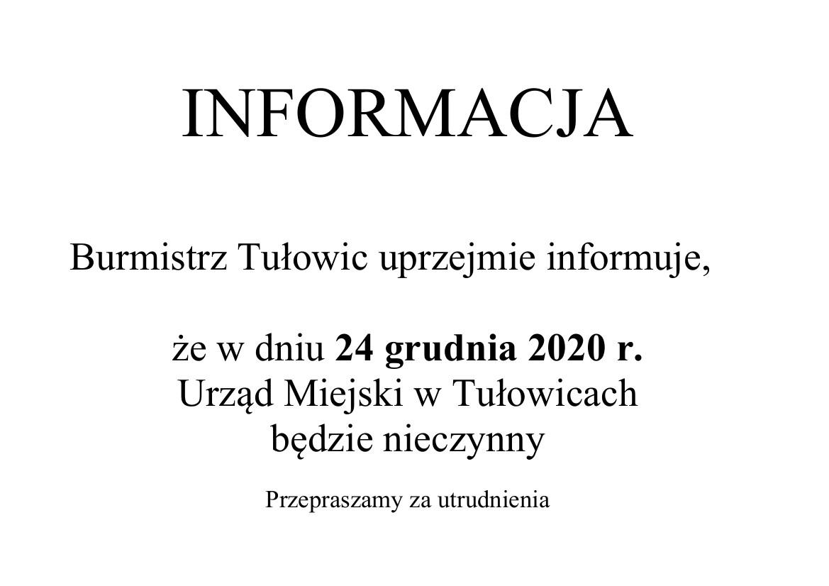 Informacja Burmistrza Tułowic z dnia 21.12.2020 r.jpeg