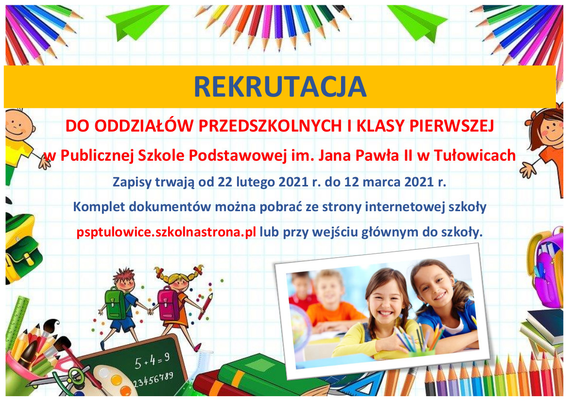 Rekrutacja do oddziałów przedszkolnych i klasy pierwszej.jpeg