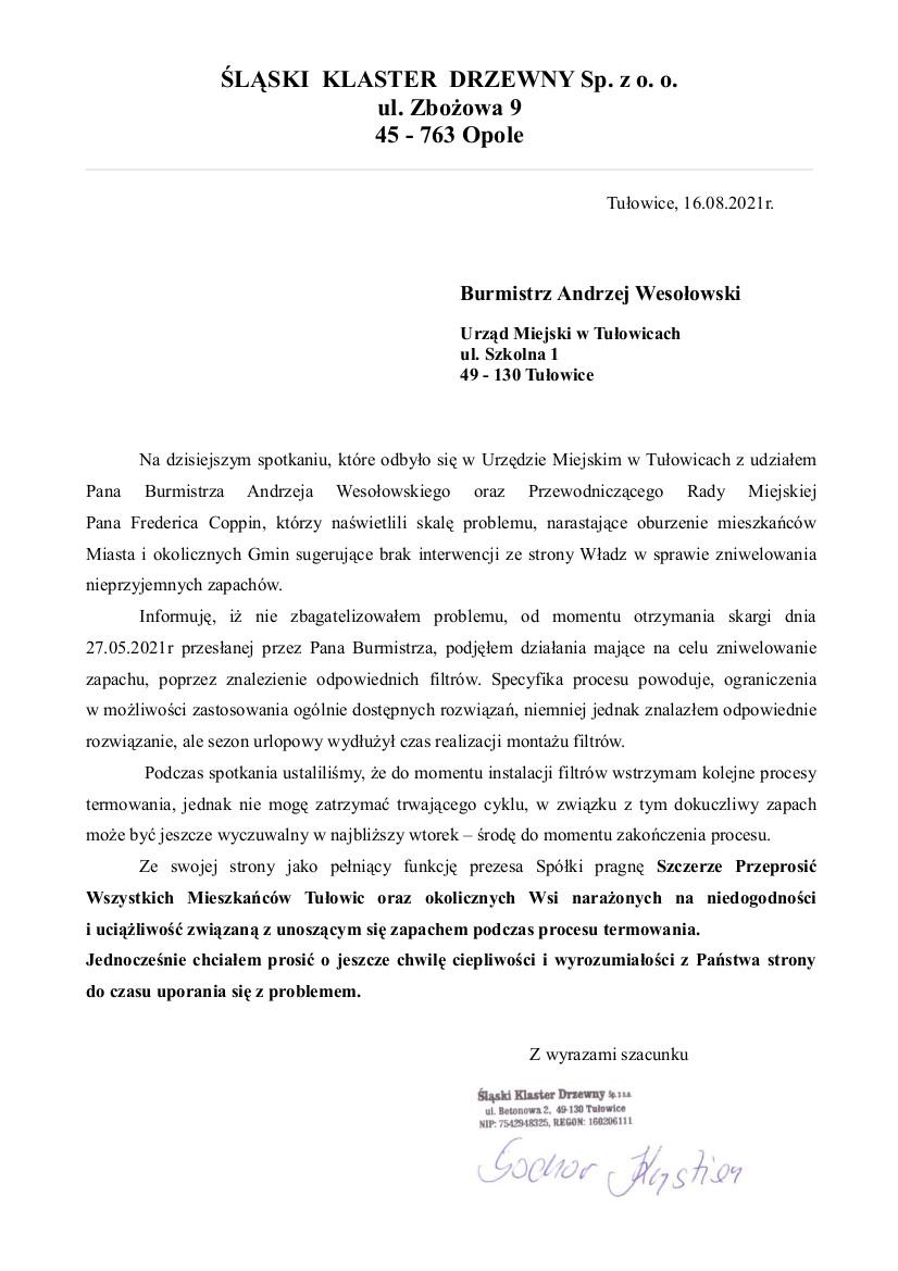 Informacja Prezesa Śląskiego Klastra Drzewnego z dnia 16.08.2021 r.jpeg