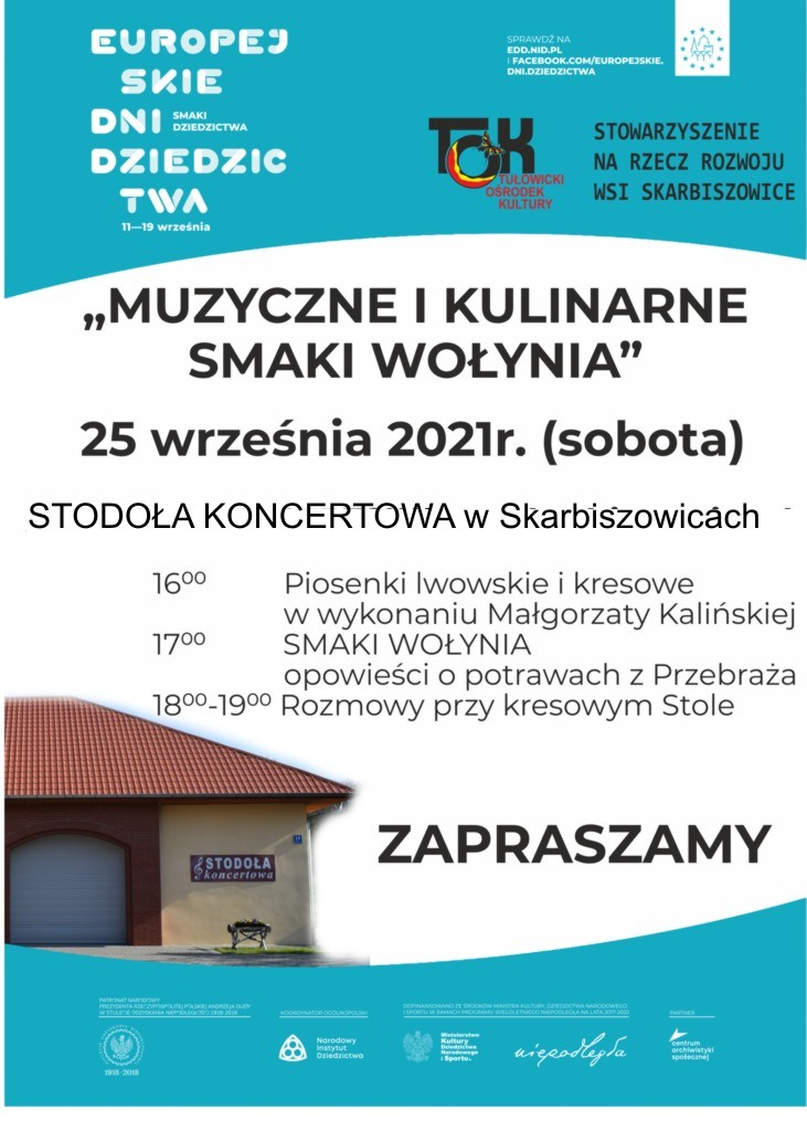 Muzyczne i kulinarne smaki Wołynia - 25.09.2021 r.jpeg