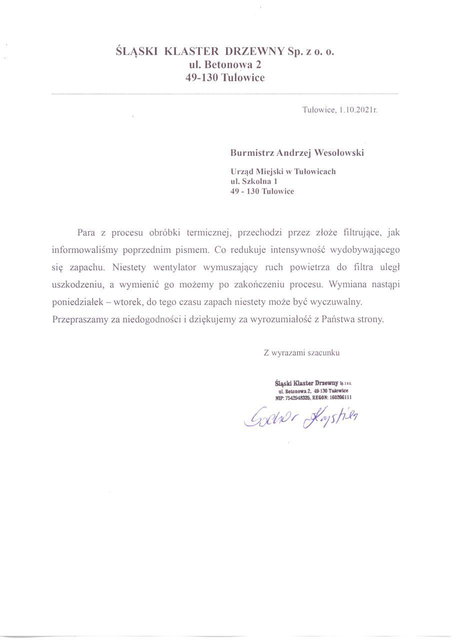 Informacja Śląskiego Klastra Drzewnego z dnia 01.10.2021 r.jpeg