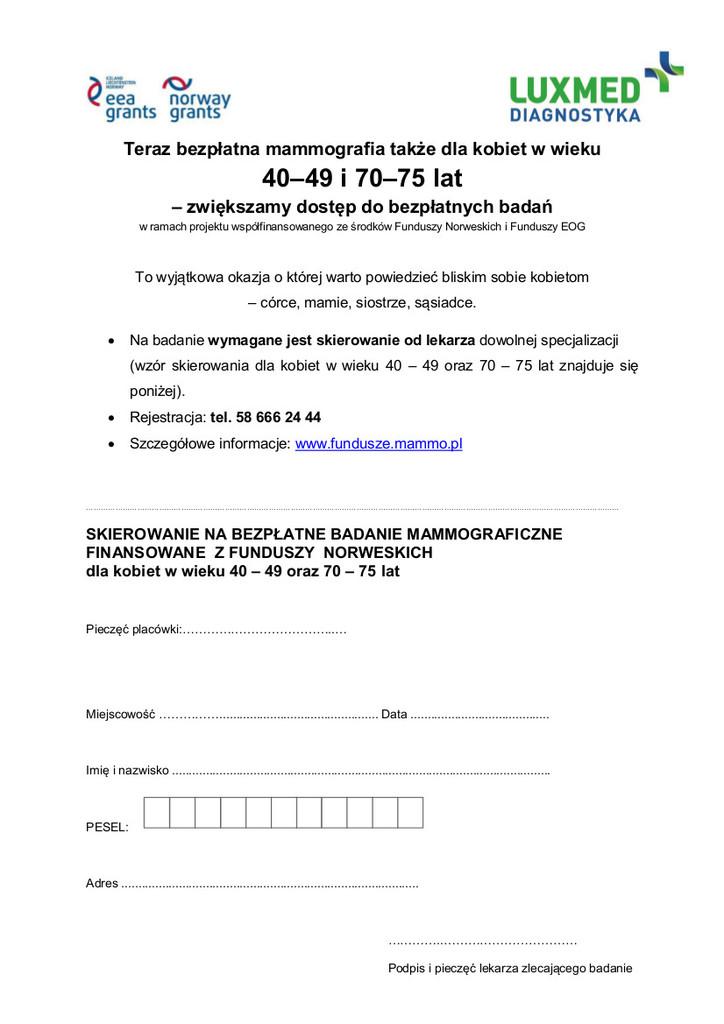 Badania mammograficzne Tułowice 29.07.2015 r.jpeg
