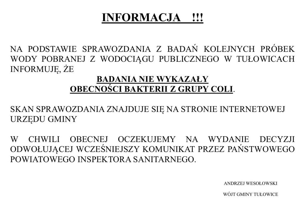 Informacja Wójta Gminy Tułowice z 07.10.2016 r..jpeg