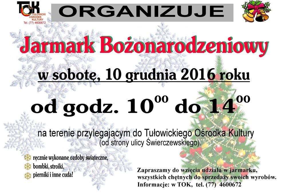 Jarmark Bożonarodzeniowy 2016.jpeg