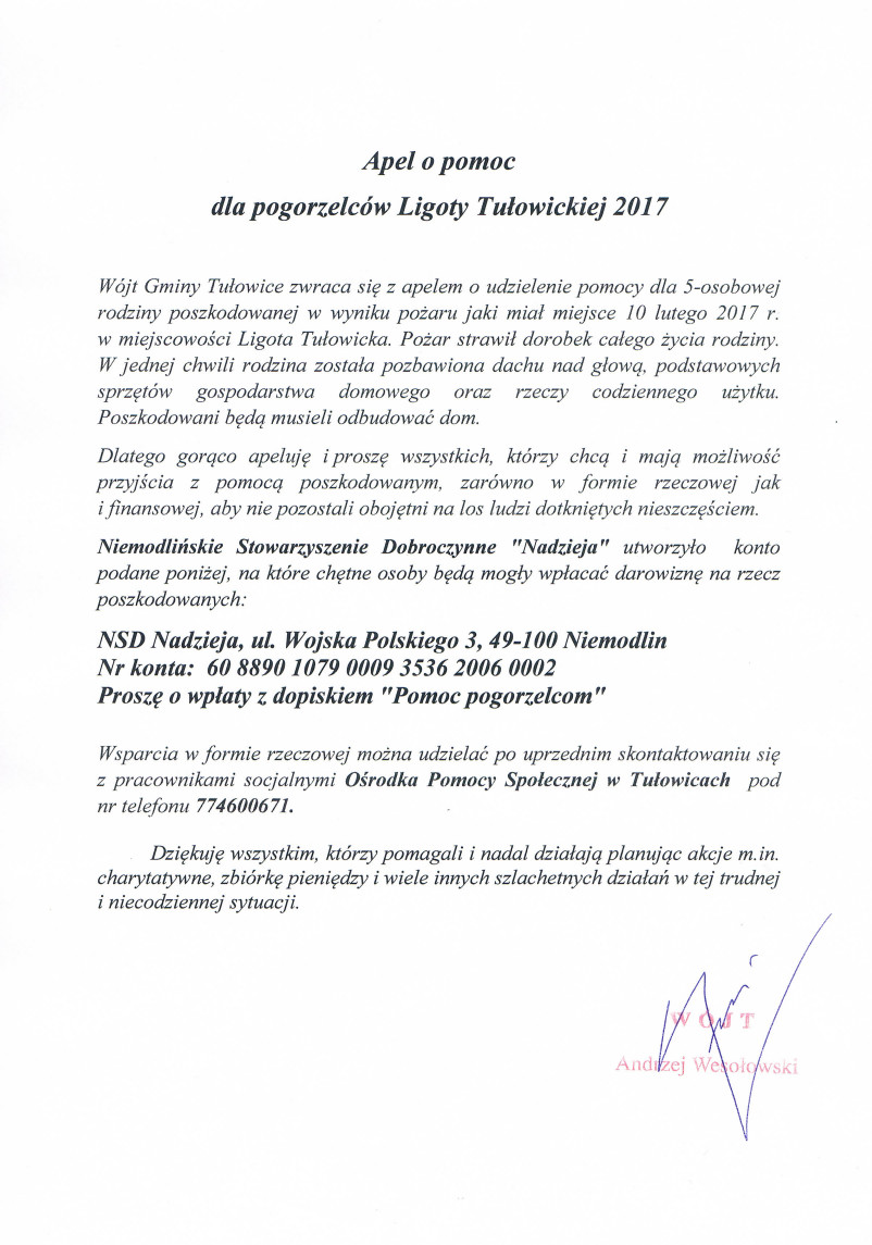 Apel o pomoc dla pogorzelców z Ligoty Tułowickiej.jpeg