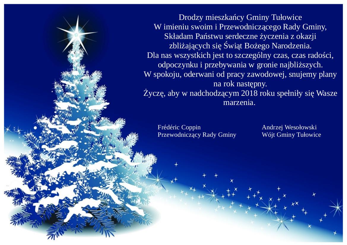 zyczenia boze narodzenie 2018 Życzenia świąteczne   Boże Narodzenie 2017   Urząd Miejski w  zyczenia boze narodzenie 2018