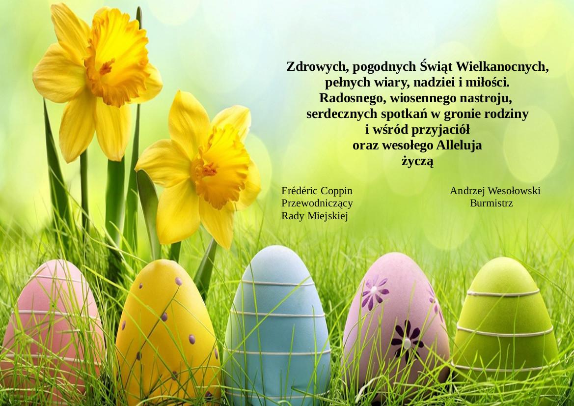 życzenia Wielkanocne 2018 Urząd Miejski W Tułowicach