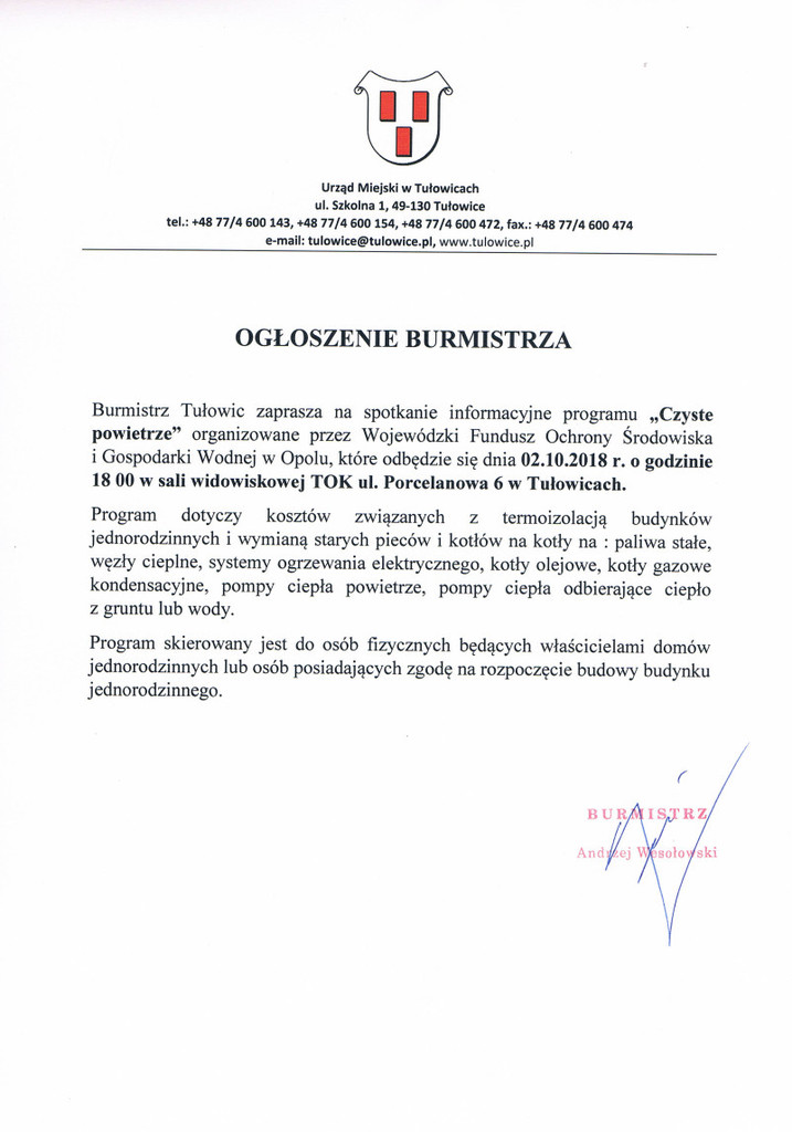 Ogłoszenie Burmistrza z dnia 26.09.2018 r.jpeg