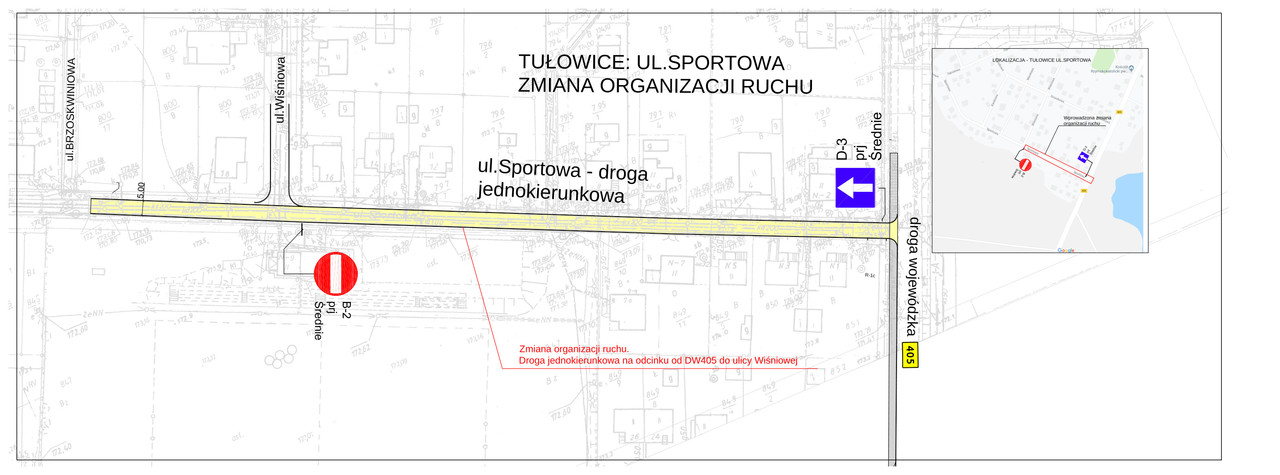 Tułowice - ul. Sportowa zmiana w organizacji ruchu.jpeg