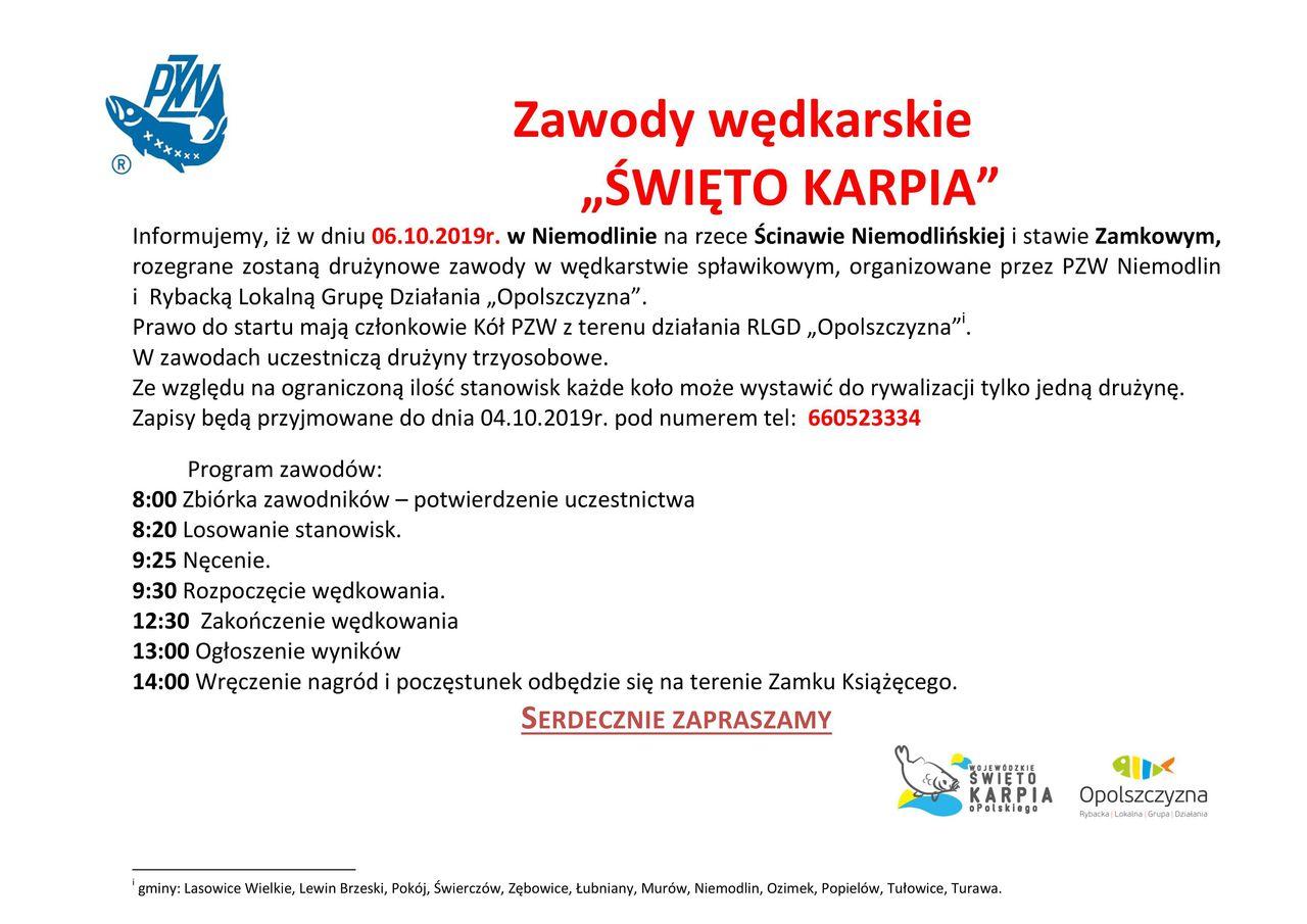 Zawody wędkarskie - Świeto Karpia 2019.jpeg