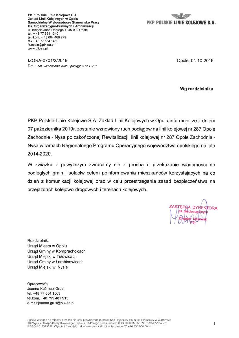 Informacja Polskich Linii Kolejowych z dnia 04.10.2019 r.jpeg