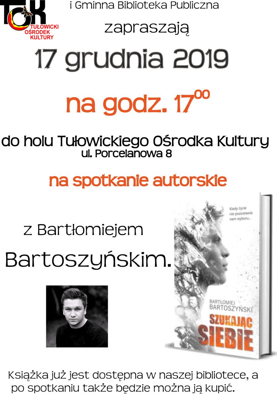 Spotkanie autorskie z Bartłomiejem Bartoszyńskim.jpeg