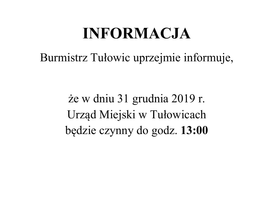 Informacja Burmistrza Tułowic z dnia 31.12.2019 r.jpeg