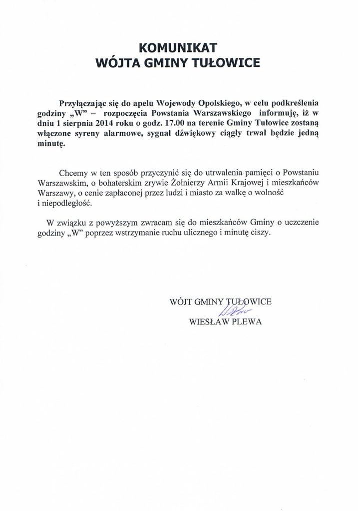 Komunikat Wójta Gminy Tułowice.jpeg