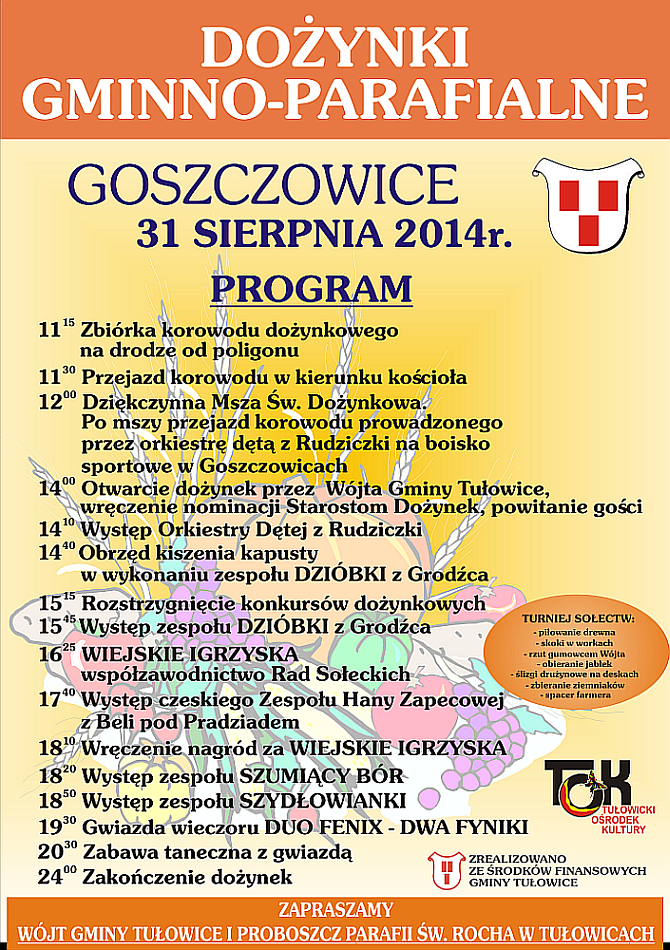 Dożynki 2014 - program.png