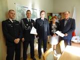 Galeria Podpisanie porozumienia w sprawie włączenia jednostki OSP Goszczowice do Krajowego Systemu Ratowniczo – Gaśniczego