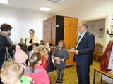 Galeria Dzieci z oddziału przedszkolnego zaproszenie na pasowanie