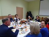 Galeria Świąteczne spotkanie Wójta Andrzeja Wesołowskiego z emerytowanymi pracownikami Urzędu Gminy Tułowice