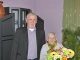 Galeria Z najserdeczniejszymi życzeniami u najstarszej mieszkanki Goszczowic