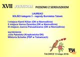 Galeria XVII Festiwal Piosenki z Serduszkiem - laureaci