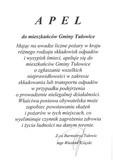 Apel do mieszkańców Gminy Tułowice z dnia 31.07.2018 r.jpeg