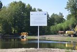 Galeria Przywrócenie pierwotnego stanu środowiska obszarów rybackich RLGD Opolszczyzna poprzez remont stawów  w m. Goszczowice
