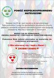 Pomóż niepełnosprawnemu Mateuszowi - 21.12.2020 r.jpeg